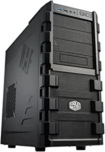 Cooler Master HAF 912 - Mid Tower Computer Case with High Airflow, Supporting up to Six 120mm Fans and USB 3.0
