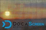 DocaScreen Fiberglass Screen Roll - 84 inch x 100