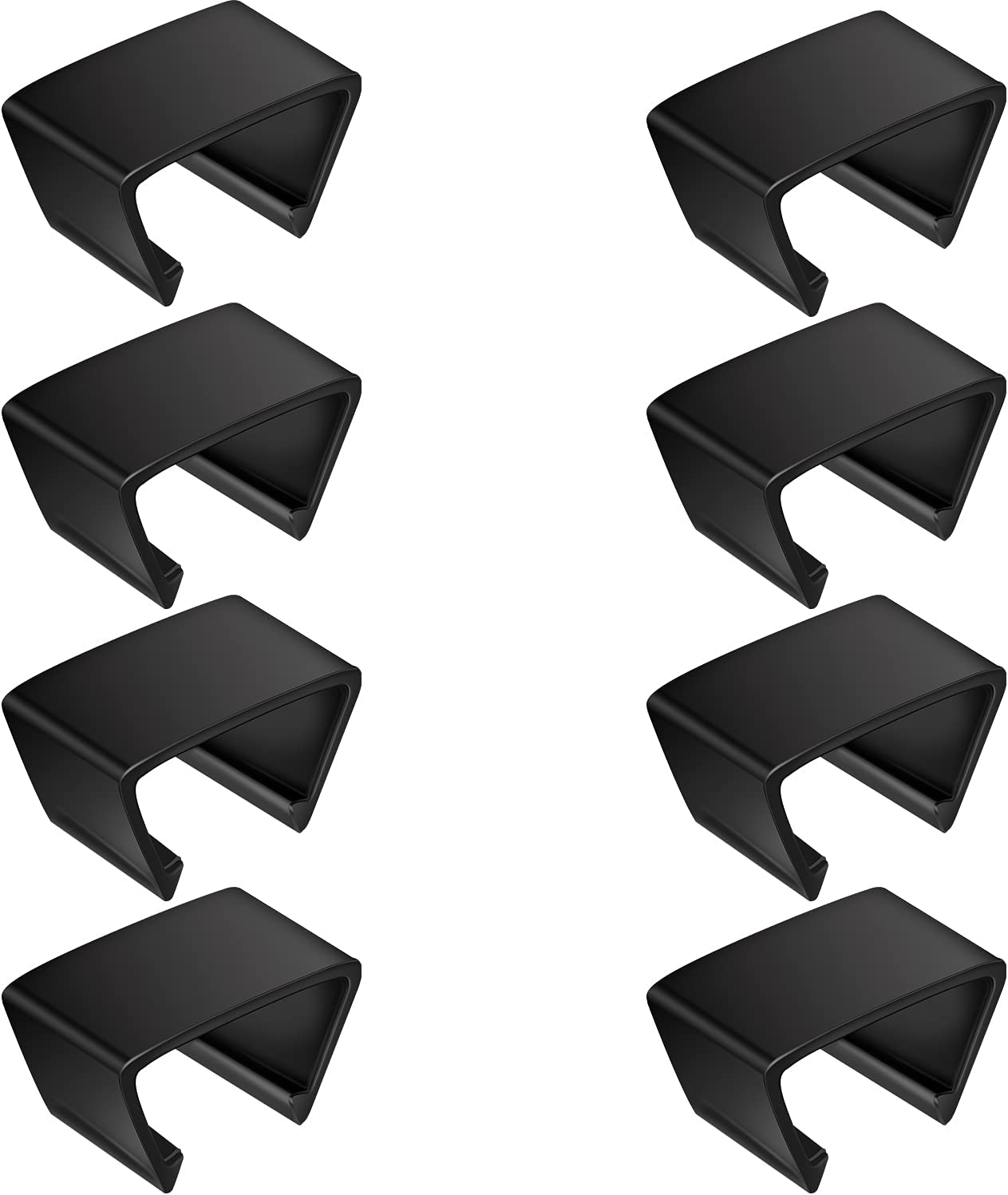 Outdoor Furniture Clips Patio Sofa Clips Rattan Furniture Clamps Wicker Chair Fasteners, Connect The Sectional or Module Outdoor Couch Patio Furniture (8 Pieces)