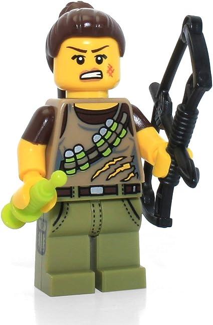 Cacciatrice di Dinosauri Lego Minifigures Serie 12 Dino Tracker 10//16 71007