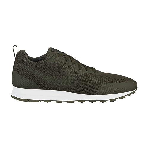 Nike MD Runner 2 19, Zapatillas de Atletismo para Hombre, Cargo Khaki/Vintage
