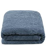 TURKUOISE TURKISH TOWEL Turkuoise Premium Quality Bath Sheet, Extra Large, 100% Turkish Cotton