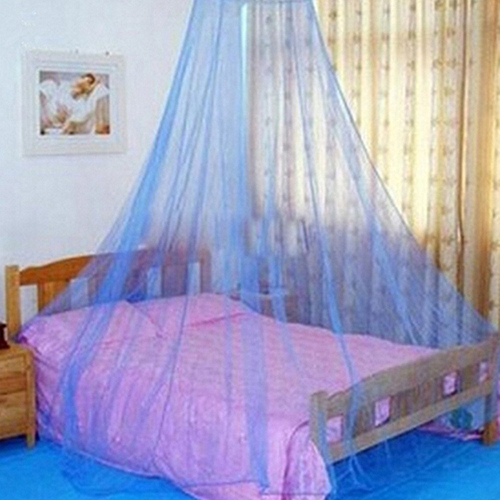 Parure de lit Bismarckbeer, lit de princesse, canopée, décoration douce, style rond avec filet moustiquaire canopée décoration douce TRTAZ11A