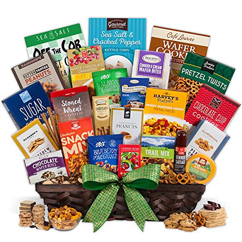 Snack Gift Basket - Ultimate by GourmetGiftBaskets.com