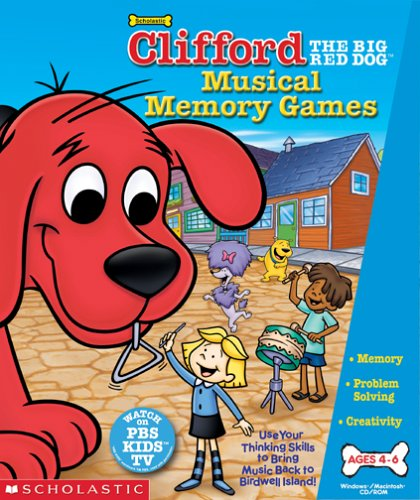 Clifford Musical Memory Games - Stores Outlet Pocono