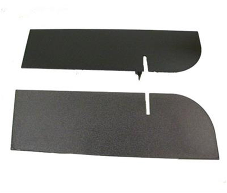 Smittybilt JB48CRT Textured Black Rear Frame Cover by Smittybilt