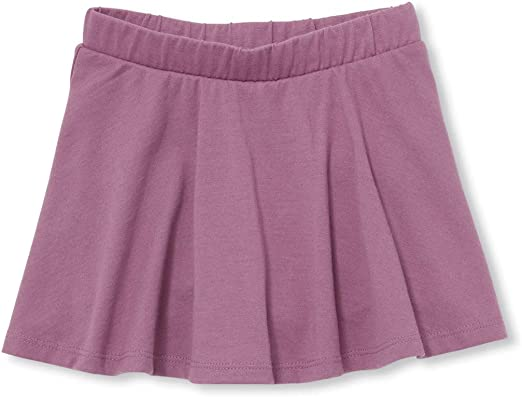 The Childrens Place Girls Knit Stripe Skort