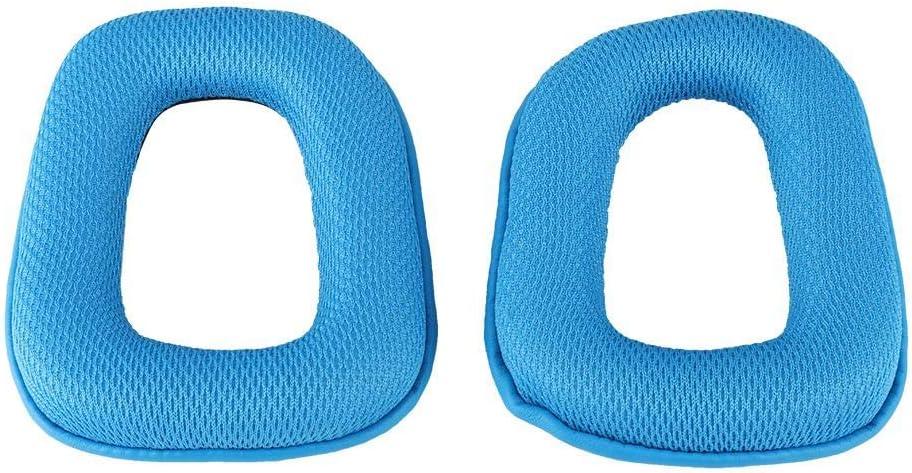 Almohadilla de Repuesto S/úper Suave para Auriculares Oreja Logitech G35 G930 G430 F450