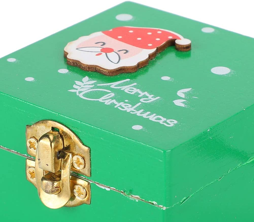 Musical Box Pine Wood Material Music Box Blessing Note for Friends Kids Gifts