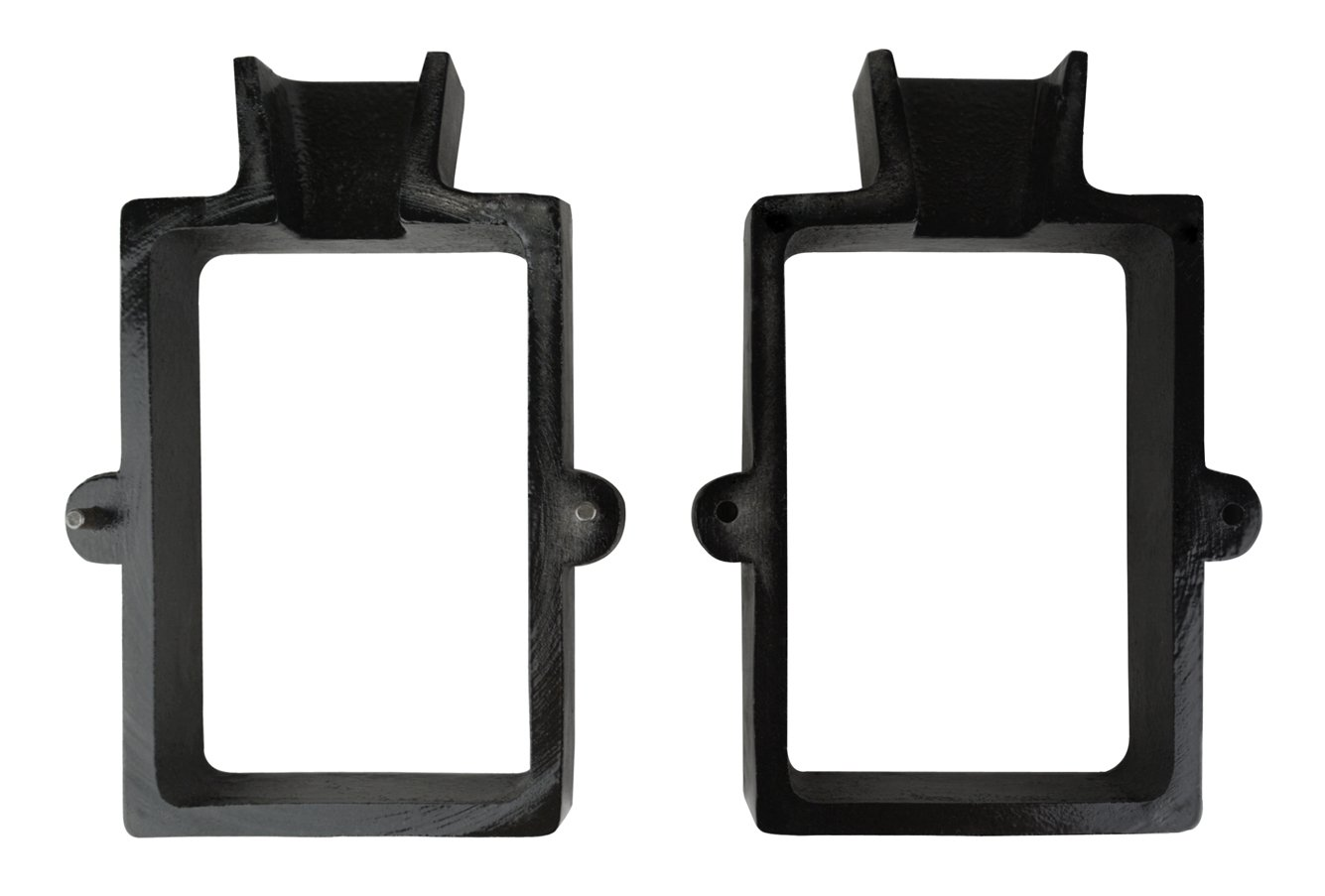 2 Piece Cast Iron Flask Mold Frame for Sand Casting Jewelry Making Metal Casting Tool by PMC Supplies LLC