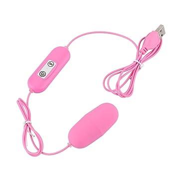 Bullet Vibrator USB Rechargeable Mini Bullet Vibrator 12 Frequency  Vibrating Egg Vaginal Ball G-Spot