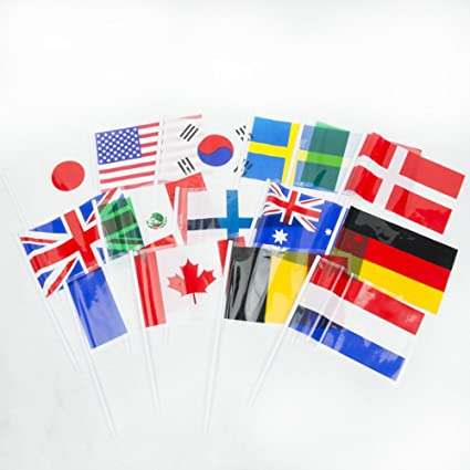 amazon com flags of all nations international flags 72 flags for
