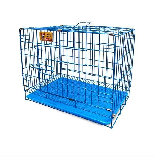 D&D Jaula para Perros, Puerta Doble Plegable Comodidad Acero ...