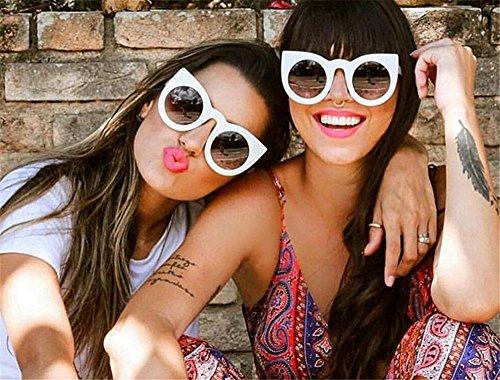 gafas Mujeres de de UV400 gafas sol Las moda de Cat lujo C4 Vintage Ojo Gafas Eye Gato de de Ma200 diseñadores de la nuevas redonda de marca 5TnBqaBYx