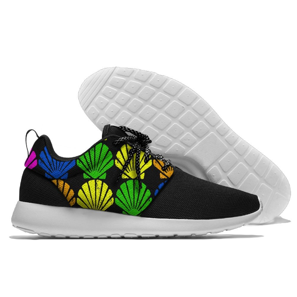 Colorful Mermaid Seashell.PNG Womens Mens Running Shoes Fashion Sneakers Casual Sports Shoes 46 Lightweight Breathable by MIRTI