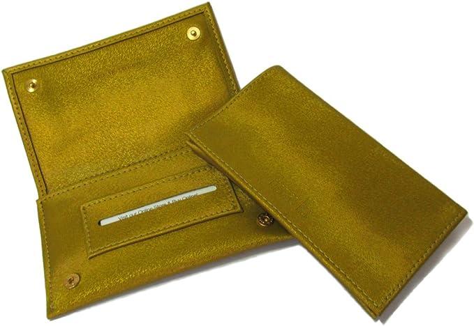 Thomas Nox Estuche de Lujo Para Tabaco de Liar -Color Verde Olive – Hecho a Mano en Londres: Amazon.es: Equipaje