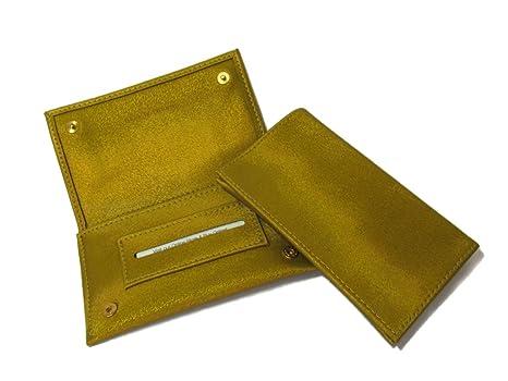 Thomas Nox Estuche de Lujo Para Tabaco de Liar -Color Verde Olive – Hecho a