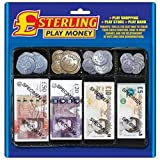 Sterling Pretend Play Money Set For Role Play Games by Carousel