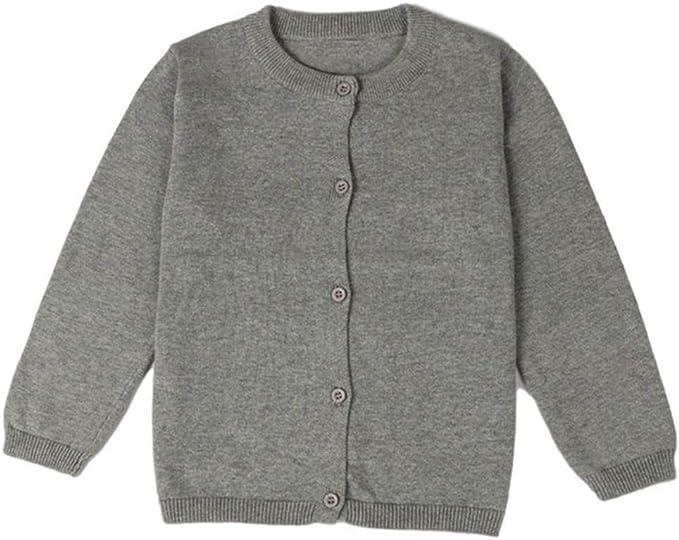 Shemiles Cárdigan de algodón para bebé y niña, para otoño, para ...