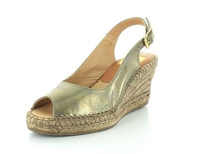 b15f436b2132d Kanna Women s KV0705 Comfort Leather Wedge Sandal