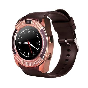 Zinniaya Reloj Inteligente Resistente al Agua para Hombres con ...
