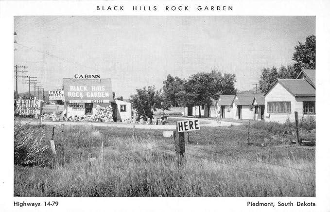 Piedmont South Dakota Black Hills Rock Garden Vintage