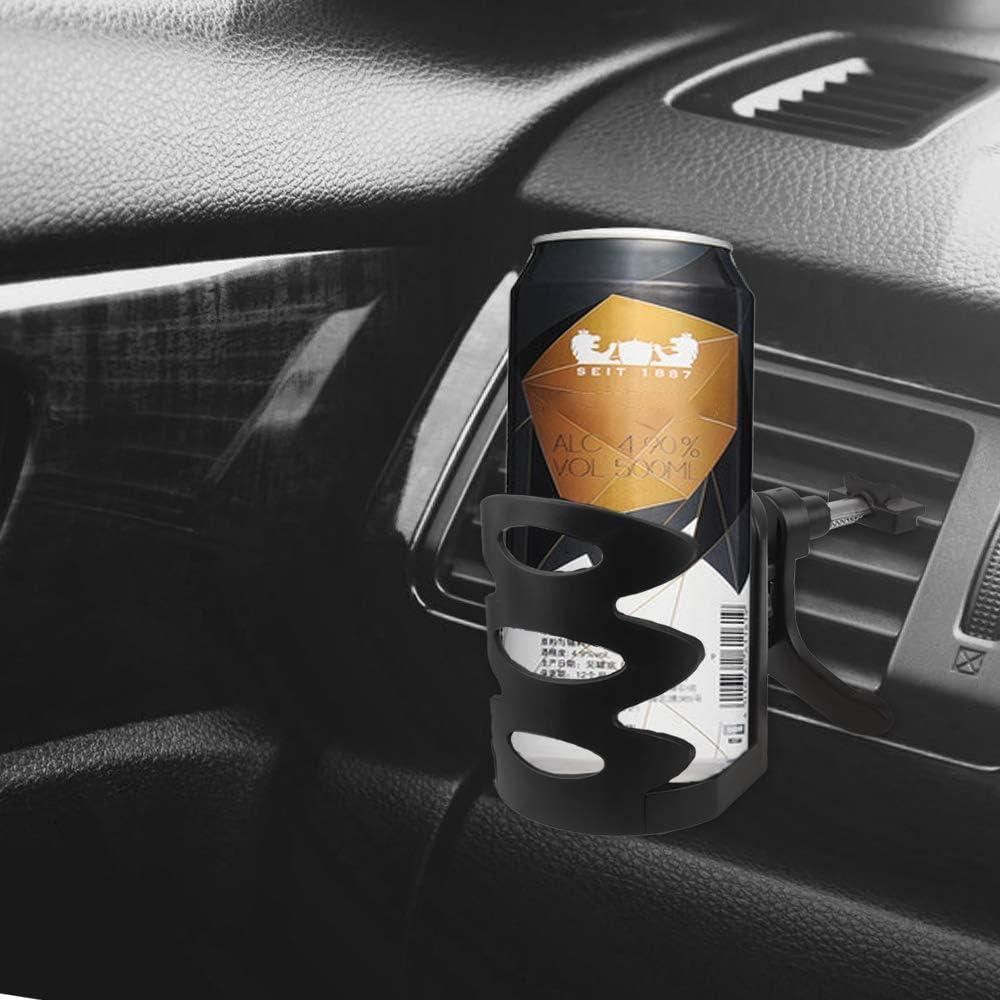 Yangfei 3 St/ück Auto Getr/änkehalter L/üftungshalterung f/ür Kaffeebecher und Getr/änkedose Getr/änkehalter Air Cooler//Heater Dosen Halterung 360/°Drehung Becherhalter Universal Folding Drink Holders