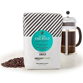 AmazonFresh Dark Roast Whole Bean Coffee
