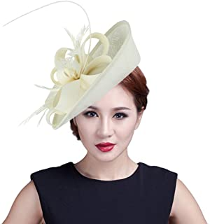 1abd1506141 Handmade Wool Felt Women Angel Wings Fascinator Hat Cocktail Party ...