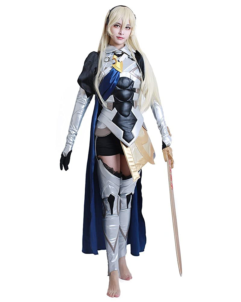 Miccostumes Avatar Corrin Disfraz de Cosplay para Mujer - Plateado ...