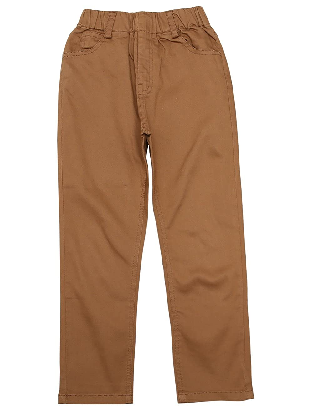 BYCR Boys' Elastic Waist Cotton Sweat Pant For Kids Size 5 12 No. 7160108162