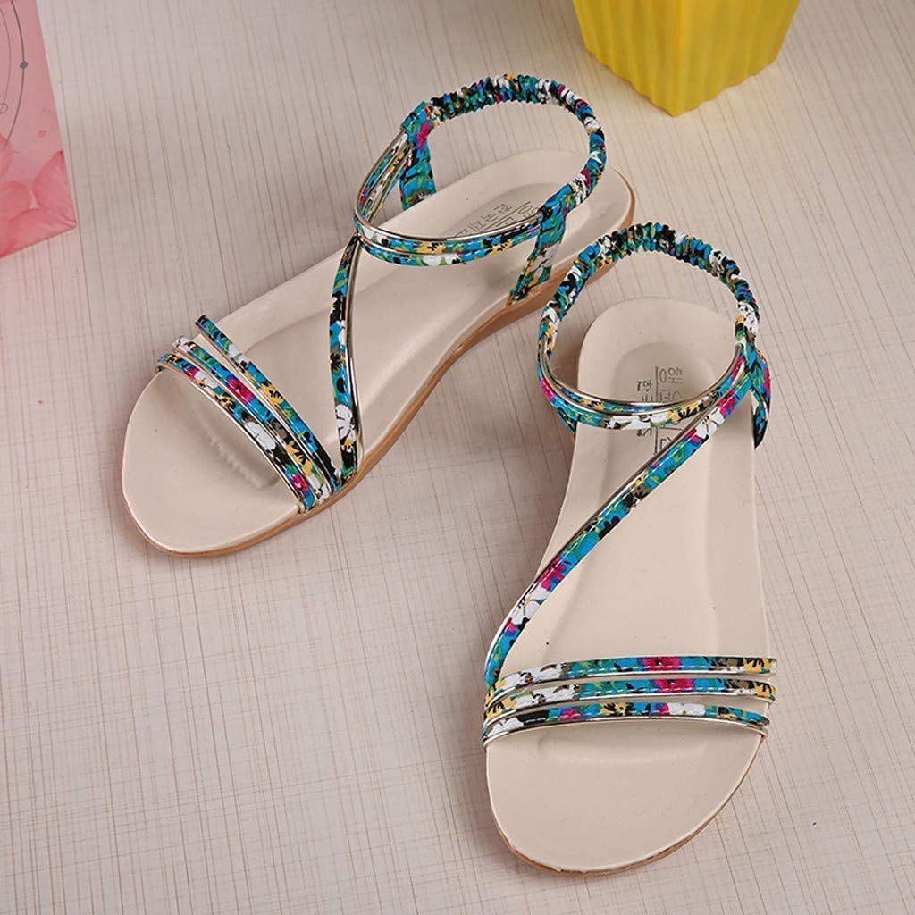 Femmes Sandales Plates Chaussures Retourner Flops Plate Chaussures Lani/ère Zip Herringbone Chaussures Snadales ete Femme Modaworld