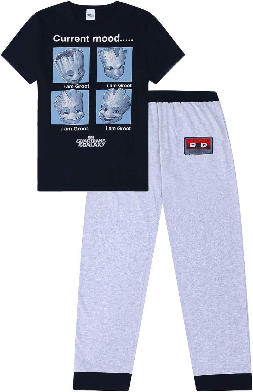 Marvel - Pijama de Guardianes de la Galaxia I am Groot para hombre