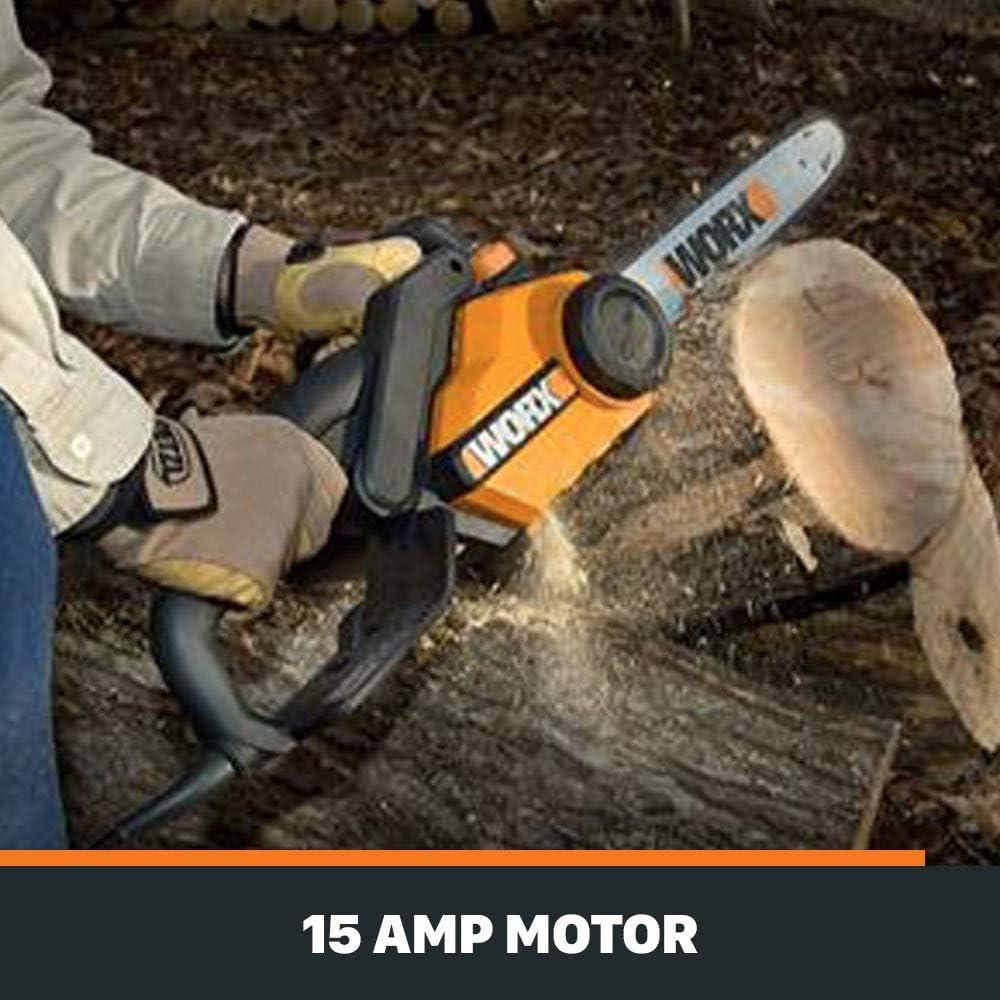 WG304.1 WORX Electric 18-Inch Chain Saw Chainsaw 18 4 HP 15 Amp