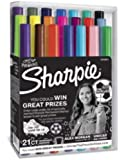 Sharpie Fine Point Ultra fine Permanent Markers Limited Edition 21 Count Pack