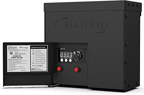 Malibu Led 600watt Outdoor Low Voltage Transformer With Dusk To Dawn Timer Timer And Photo Eye Amazon Com
