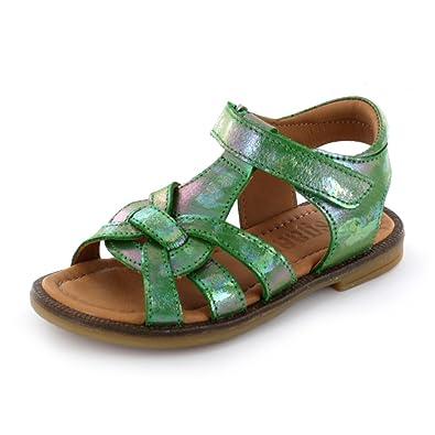 Chaussures Bisgaard vertes garçon 5Lu4b