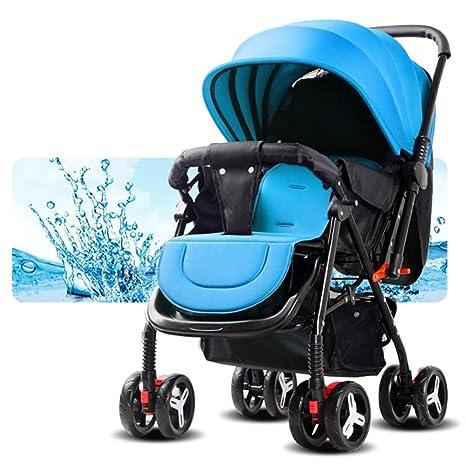 GZF Cochecito de Bebé de Confort Cochecitos, cochecitos ligeros, carros reversibles, carros reclinables