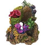 RockGarden Resin Aquarium Coral Garden, 8 OZ, Multi-Color
