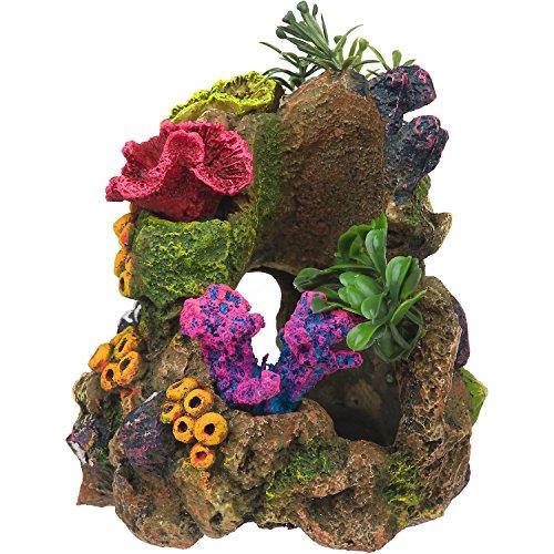 RockGarden Resin Aquarium Coral Garden, 8 OZ, Multi-Color by Rock Garden