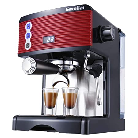 LEIAZ Cafetera, 15BAR, Cafetera Espresso Semiautomática ...