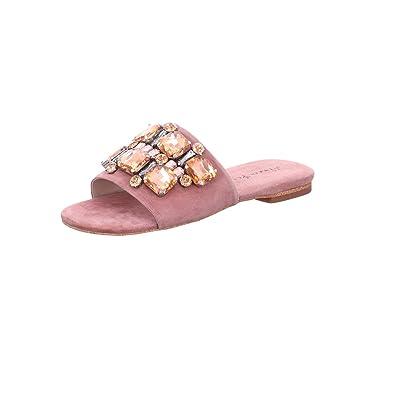 Alma en Pena Damen Pantoletten 506 rosa 463754: