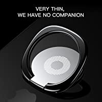 iRing Phone Ring Finger Holder Car Mount Hook iPhone Stand Mobile Grip GPS iPad (Silver)