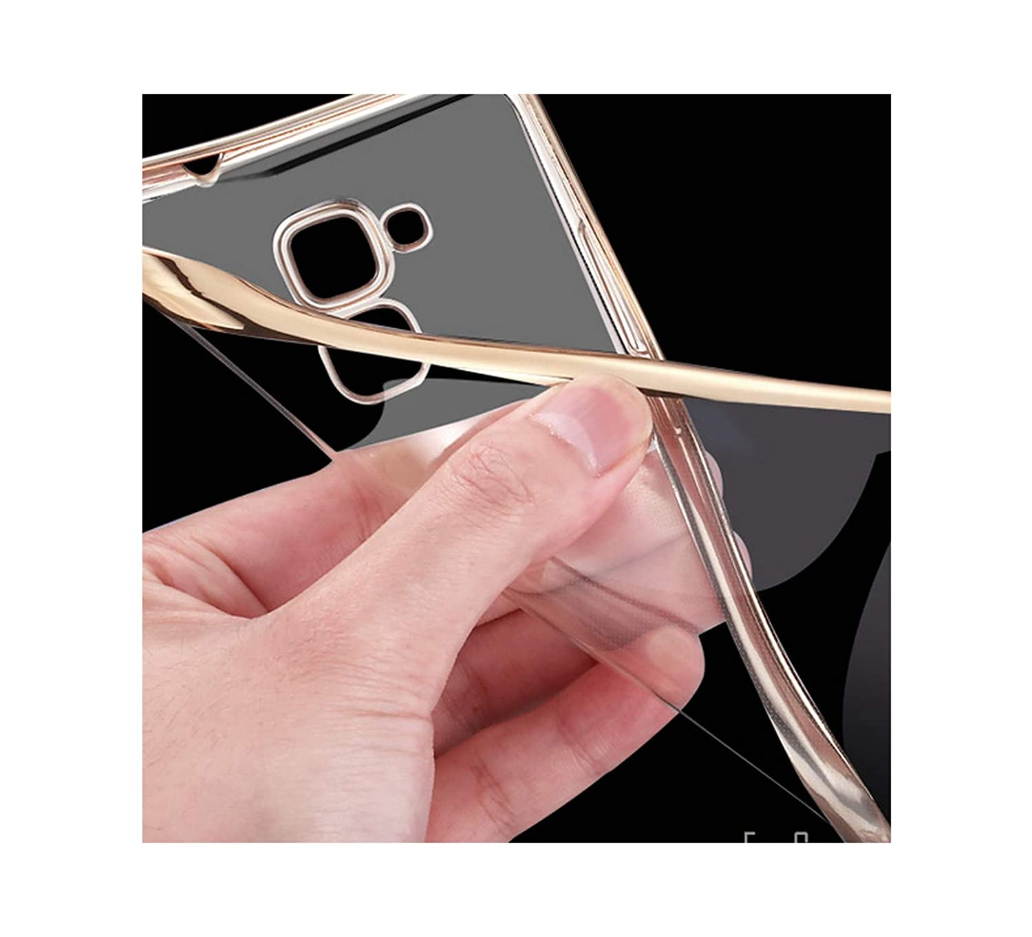 Amazon.com: Honor 5C Case Plating Crystal Soft TPU Clear ...