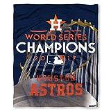 "Houston Astros 2017 World Series Champions 50"" x 60"" HD Silk Touch Throw Blanket"
