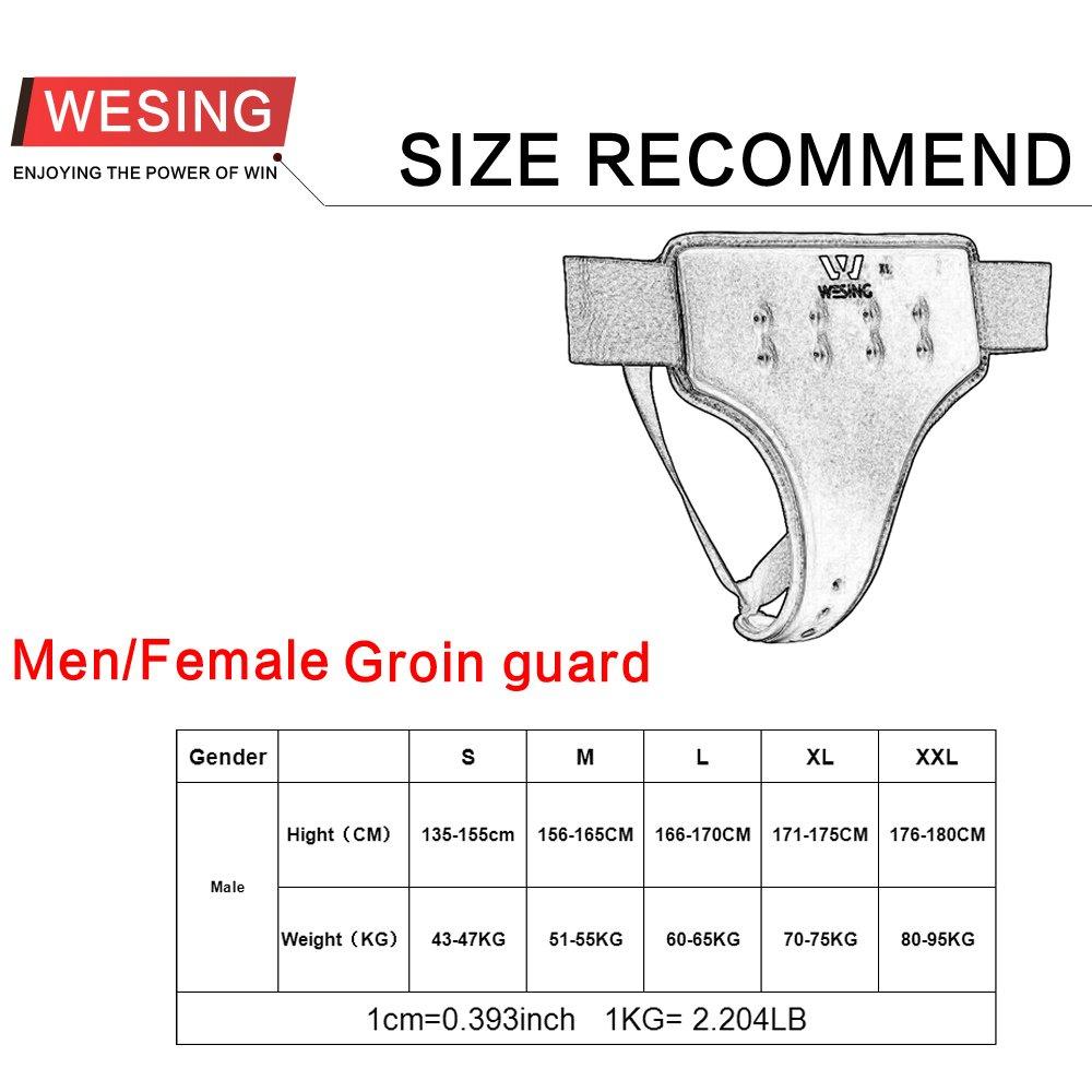 wesing women karate groin guard WKF Groin protector