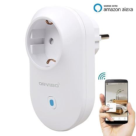 orvibo WiFi inteligente enchufe/WiFi enchufe alemán voz Control a través de Amazon Alexa para