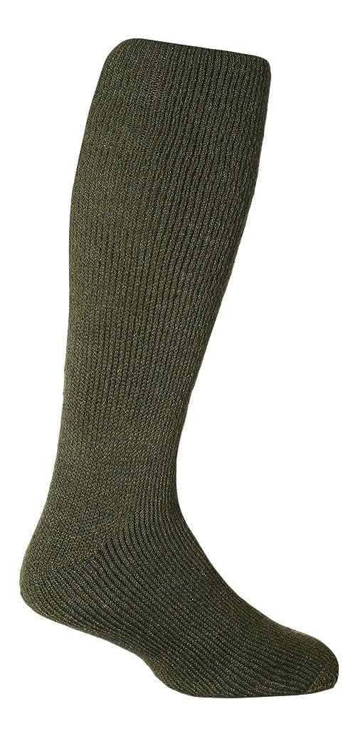 Calcetines altos largos termicos hombre y mujer hasta la rodilla gruesos invierno para botas agua HEAT HOLDERS Long