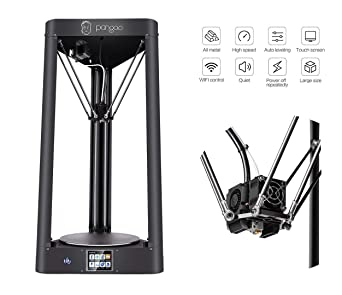 PANGOO 3D Printer-Impresora 3D, DIY Volume 260mm Diameter x 370mm Height
