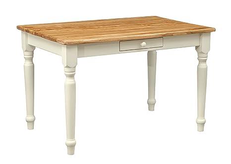 Scrittoio scrivania in legno massello di tiglio - Stile Country ...